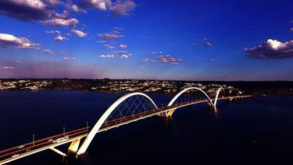 Foto da Ponte JK Brasília
