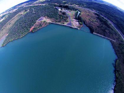 Foto Aérea da Barragem do Descoberto